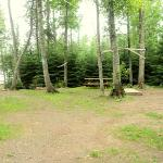 Very roomy and private lake campsite, additional picnic table and fire pit down at lake. Private outhouse. Private road. Electric included.